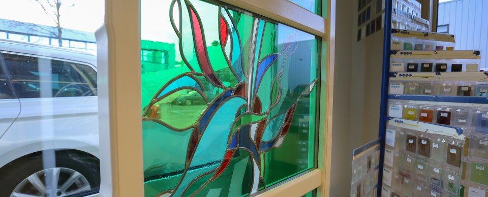 Beroemd Glas-in-lood CT21