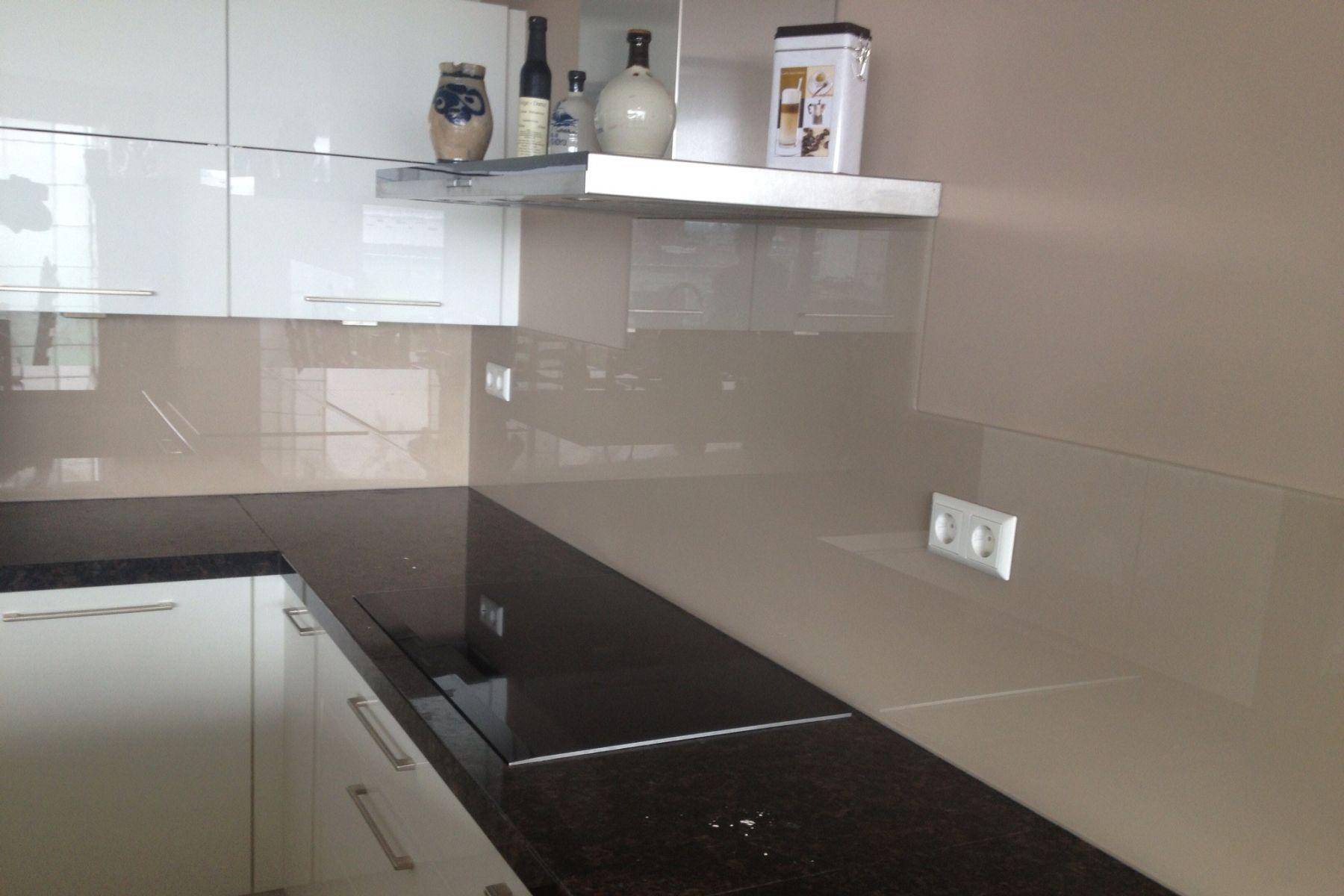 Keuken Glazen Achterwand : Glazen keuken achterwand geplaatst in zoetermeer