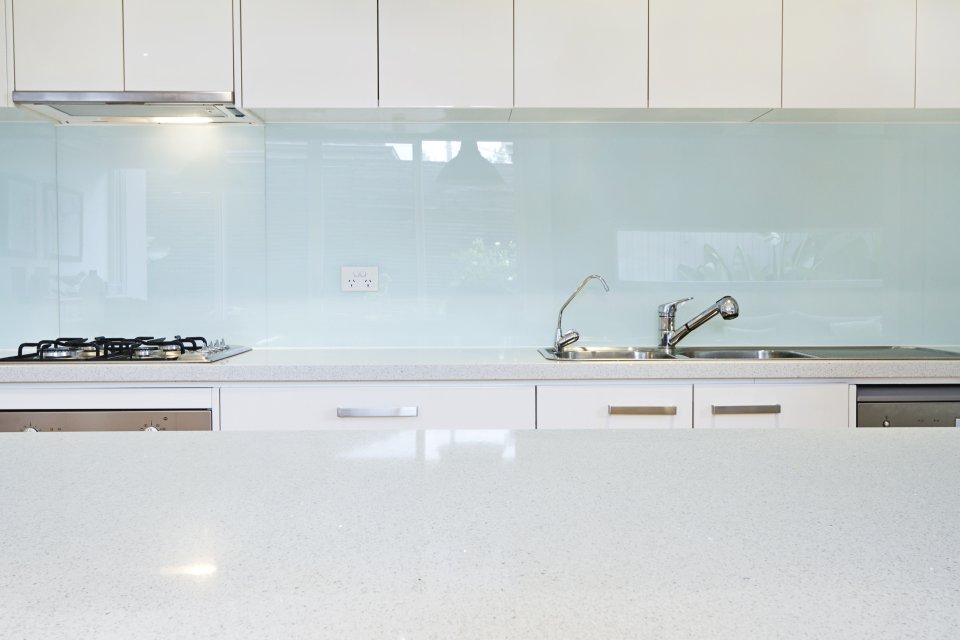 Keuken Glazen Achterwand : Glazen achterwanden keuken