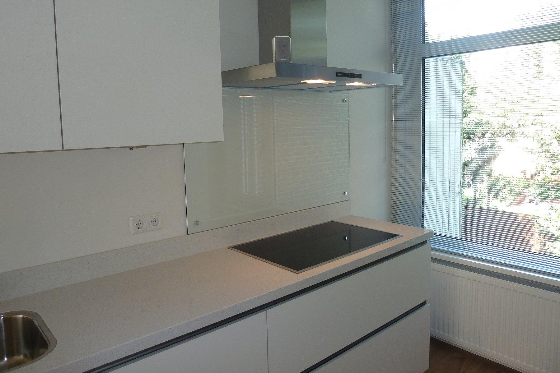Glazen Spatwand Keuken : Achterwand keuken glas in ral glasbestellen nl decoratie